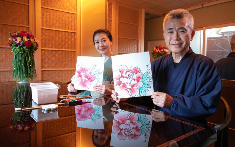 日本画学習