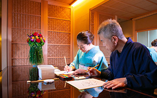 Japanese Painting Workshop